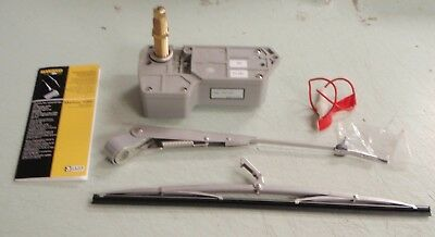 WINDSHIELD WIPER KIT AFI MARINCO 69 37100 FRAME MOUNT 80 DEGREE MOTOR 12V BOAT