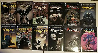 Batman New 52 Graphic Novel Collection Vol.1 2 3 4 5 6 7 8 + Joker Tie-In Book ()