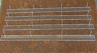 LOZIER Store Fixtures WBF43 BCP 4 ft. x 3 in. Wire Bin Front 4 pcs. 48 in. NEW ()
