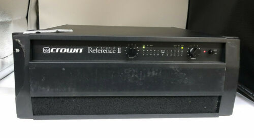 Crown Studio Reference II 2-Channel Stereo Power Amplifier