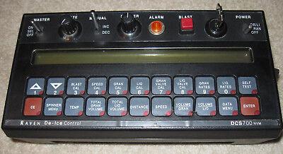 Raven Dcs700 Nvm De-ice Control Console Computer Controller Box 1725