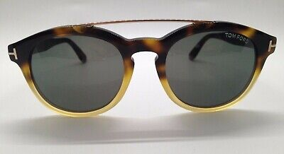 Tom Ford Newman TF515 Tortoise 56N Round Sunglasses Frames 53-21-145 Italy (Tom Ford Newman)