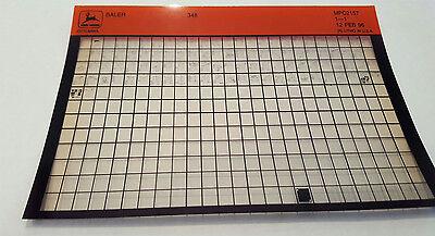 John Deere Parts Catalog Baler 348 Microfiche Fiche Manual