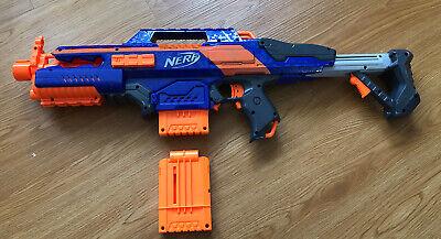 Nerf N-Strike Elite Rapidstrike CS-18 Blaster Gun 2012 w/ Extra Clip & 10 Darts