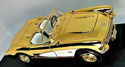 Chevy 1957 1 Corvette 24k 18 Vette Exotic Sport 43 Dream Car 24 Gold 12 Concept