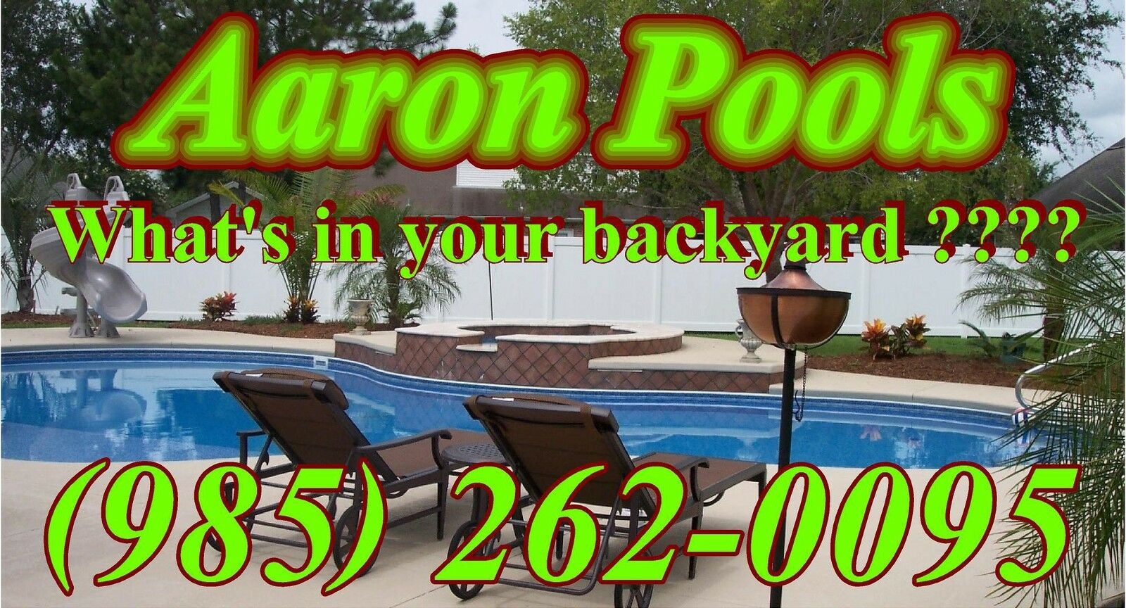 Aaron Pools and Patio