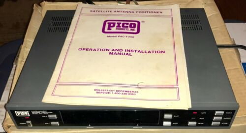 Pico Products PAC 1000 Programmable Satellite Antenna Positioner
