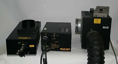 Melles Griot 643 Krypton Argon Laser Head176b Power Supplyfan 43 -under 500h-