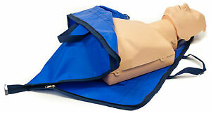 CPR Training Manikin Adult & switchable to Child Manikin with carry bag/mat NEW
