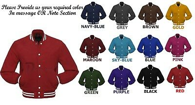 Letterman Wool jacket Melton Wool Varsity School Collage Fashion Jacket    Melton Wool Letterman Jacket