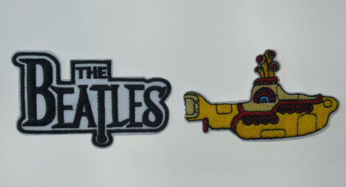 """The BEATLES + YELLOW SUBMARINE Embroidered Patches Badge Iron Sew On Applique 3"""""""