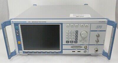 Rohde Schwarz Fsu 2110.2500.02 Broadcast Test System