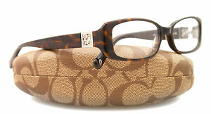 New Coach Eyeglasses Women HC 6006B Tortoise 5001 Savannah 51mm