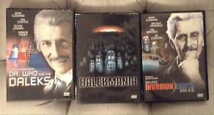 Doctor Who and the Daleks - dvd movies