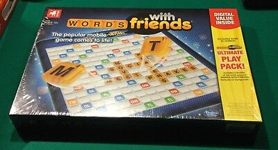 2012 Words With Friends Game New Factory Sealed