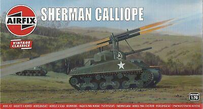 20 mm Airfix 1//76 Sherman Calliope