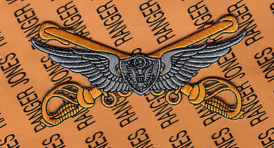 US Army Air Cavalry Aviation Crewmember 4 inch flight wing jacket patch