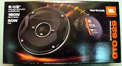 """NEW JBL GTO629 6.5"""" 2-Way Grand Touring Series Coaxial Speakers (1-Pair)"""