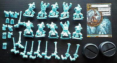 Hordes Trollbloods Fennblades 10 man Unit warmachine mk3 plastic and card troll