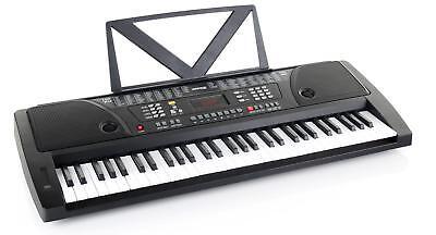 61 Teclas Teclado Electronico Keyboard Aprendizaje Piano 100 Sonidos & Ritmos