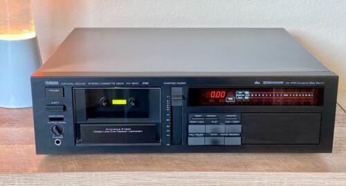 Yamaha KX-1200 Audiophile 3-Head Stereo 3 Motor Cassette Deck. HX-Pro & DBX ~EX!