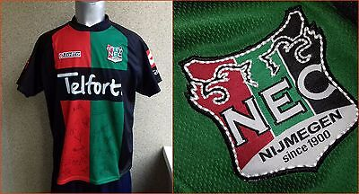 Signed NEC Nijmegen Holland 2005-2006 Home football shirt L Jersey Lotto  image