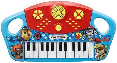 Paw Patrol Piano Muisical Instrument Keyboard Kids Childrens Toy
