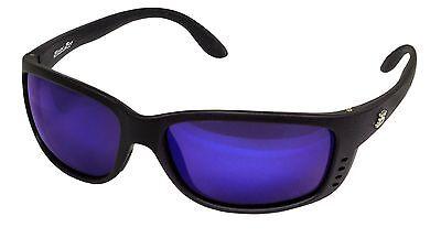 0d638de9ef Bimini Bay Polarized Sunglasses MB-BB1SB Blue Smoke Lens Fishing Beach  Outdoors