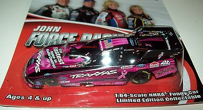 Courtney Force 2013 Pink Traxxas Ford Mustang Funny Car 1/64 NHRA Action Diecast