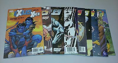 Exiles comics lot 30-39 xmen run set collection movie age of apocalypse blink