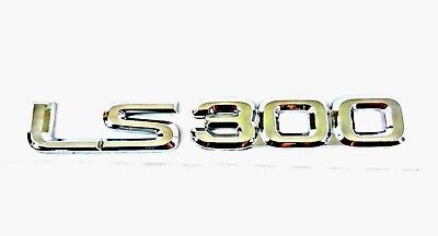 Lexus LS 460 Chrome Silver Letters Emblem Badge Rear Boot Trunk Sticker 170*23mm