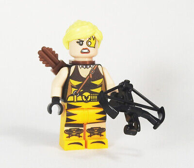 Custom - Tigress Crock - DC Super heroes minifigures Batman on lego bricks