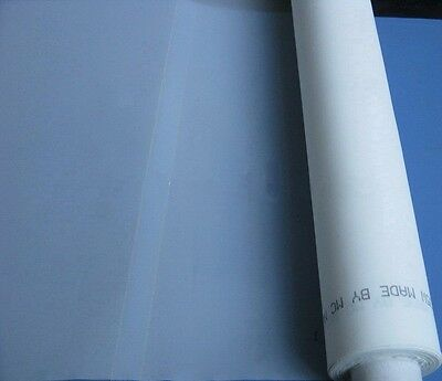 Silk Screen Printing Screen Mesh Fabric 140 Mesh56t White - 3 Yards 50 Width