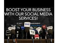 Don't have time to manage your SOCIAL MEDIA profiles? Get the best SOCIAL MEDIA Services NOW!