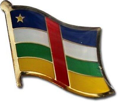 Wholesale Pack of 50 Central African Republic Flag Bike Hat Cap lapel Pin