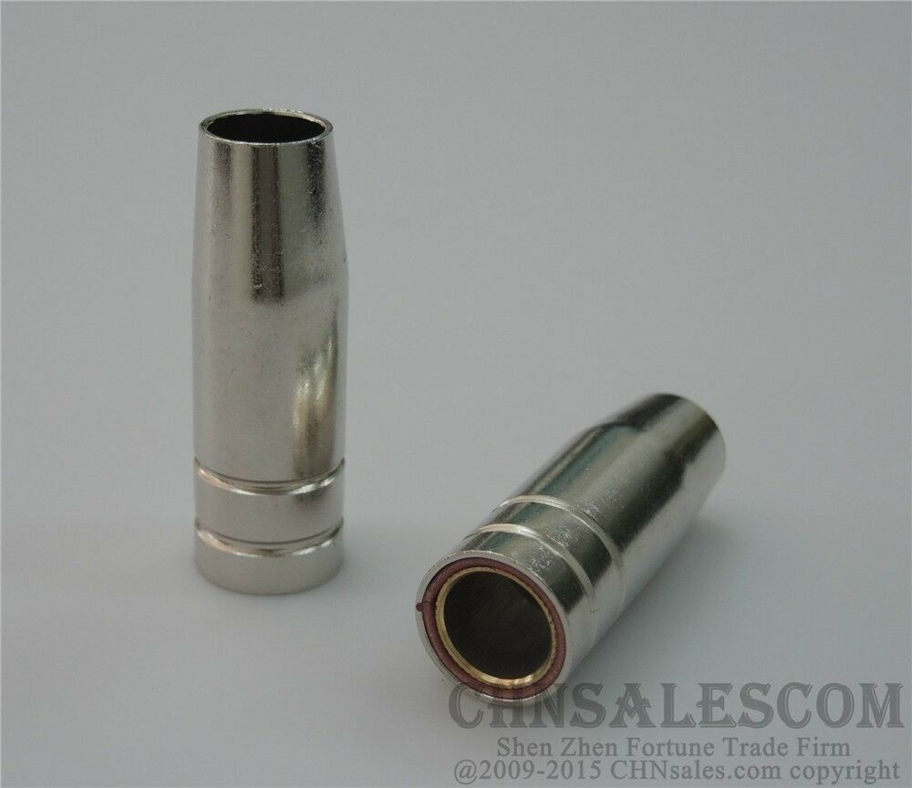 21 PCS MB-15AK MIG//MAG Welding Torch Contact Tip 140.0059 Gas Nozzle 145.0075