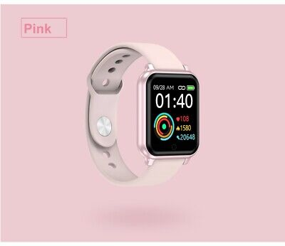 Men Women Bluetooth Smart Watch Heart Rate Fitness Wristband For iPhone Samsung