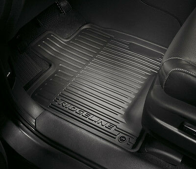 NEW Genuine OEM 2017 Honda Ridgeline All Season High Wall Floor Mats set