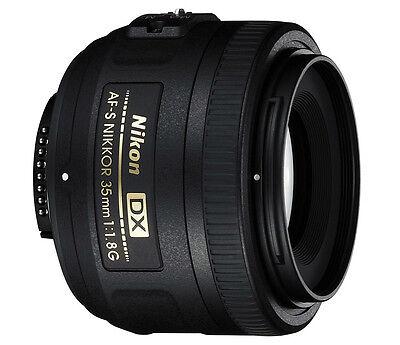 Nikon 35mm f/1.8G AF-S DX Lens for Nikon Digital SLR Cameras *Brand New*