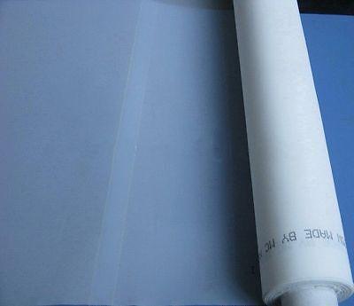 3 Yards Silk Screen Printing Mesh 120m48t White Fabric Press Screen For Shirt