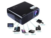 SOLD!!!!!!ELEPHAS 2600 Lumens Multimedia LED Projector Portable for 1080PEntertainment and Busin