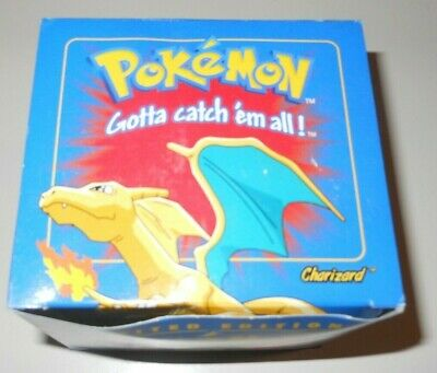 Charizard 1999 Burger King Pokemon 23K Gold-Plated card Pokeball SEALED Blue