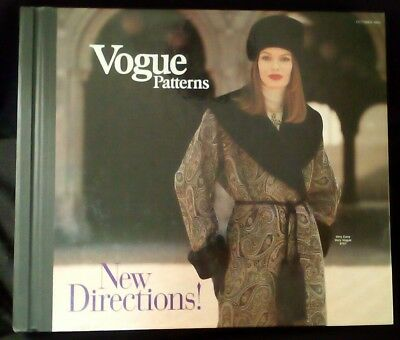 Vintage VOGUE Oct 1993 Sewing PATTERN COUNTER CATALOG Store Book Retro Fashion