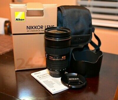 Nikon NIKKOR 24-70mm f/2.8 AS G SWM AF-S IF N ED M/A Lens