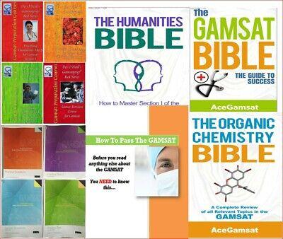 GAMSAT Complete Bundle Incl. ACER, Ozimed, Des O'Niell,Ace Gamsat, Medprep