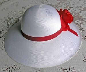 Ladies Summer Hat (White)