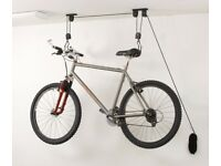 Ceiling mounted cycle hoists x2 pair