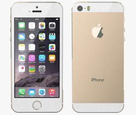 **IPHONE 5s,GOLD, UNLOCKED, 16GB**