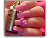 Brand new sealed 15ml foxy21 nail gel polish colour manicure pedicure soak off top base coat