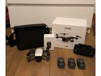 DJI Spark (Alpine White) - Fly More Combo + Extra Battery